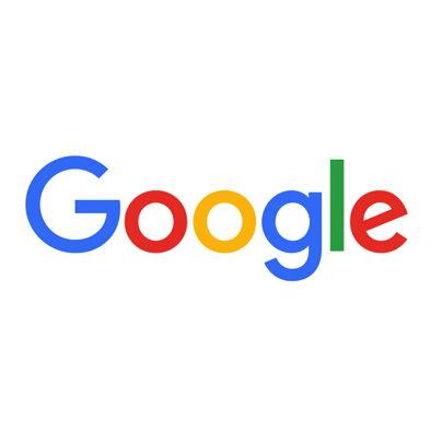 Google logo featuring colorful letters
