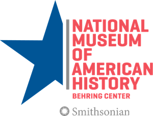 Logo of the National Museum of American History Behring Center, featuring a blue star
